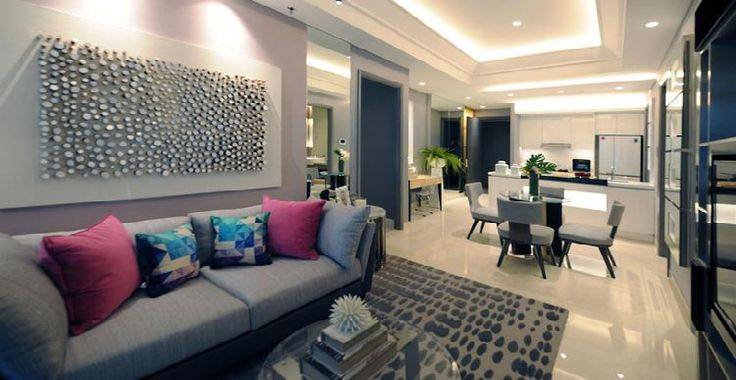 2BR-B View Living Room